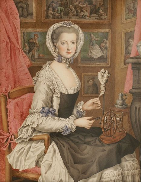 courtroyale:  Marie Christine, one of Marie Antoinette's sisters and the favorite daughter of their mother , Empress Maria Theresa.