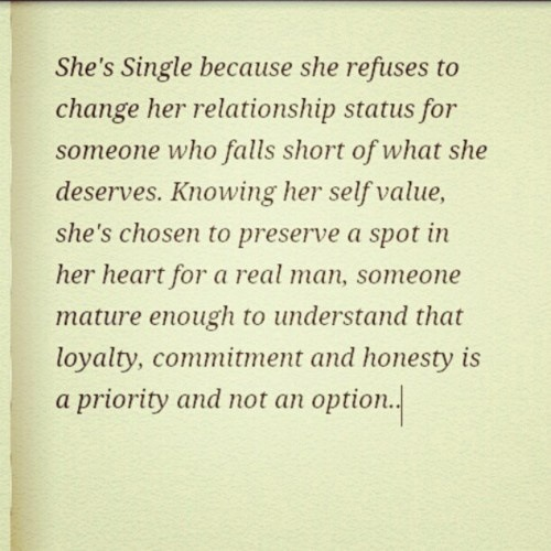 makemestfu:  RELATE RELATE RELATE :)  Why I'm single.