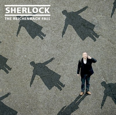 Sherlock.  The Reichenbach Fall.