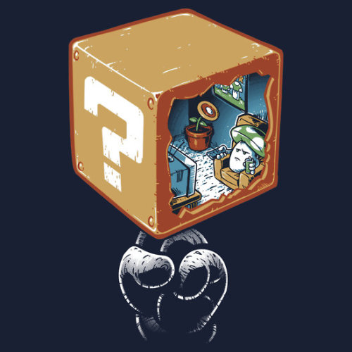 it8bit:  An Undisturbed Life Created by Nathan Davis Shirts available at RedBubble