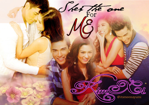 itsmeenayumi:  Shes The One For ME another KimXi Fanmade by Me…hehehe