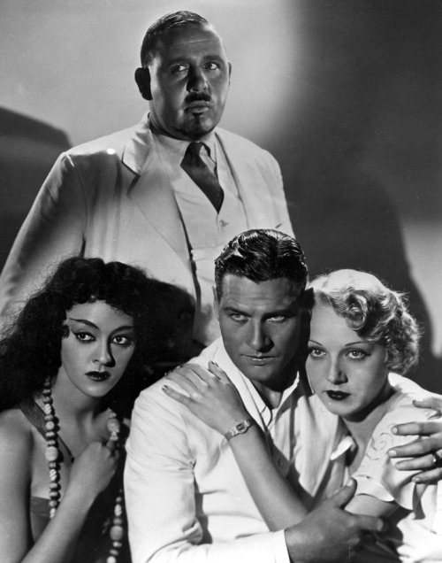 the cast of ISLAND OF LOST SOULS (1932)
