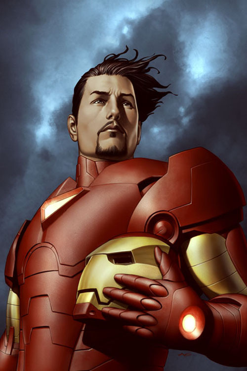 fyeahmarvelcomics:  Iron Man: Extremis #3 cover by Adi Granov