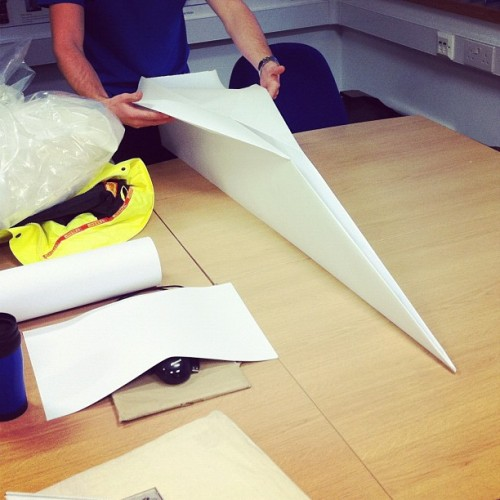 Paper aeroplane anyone?