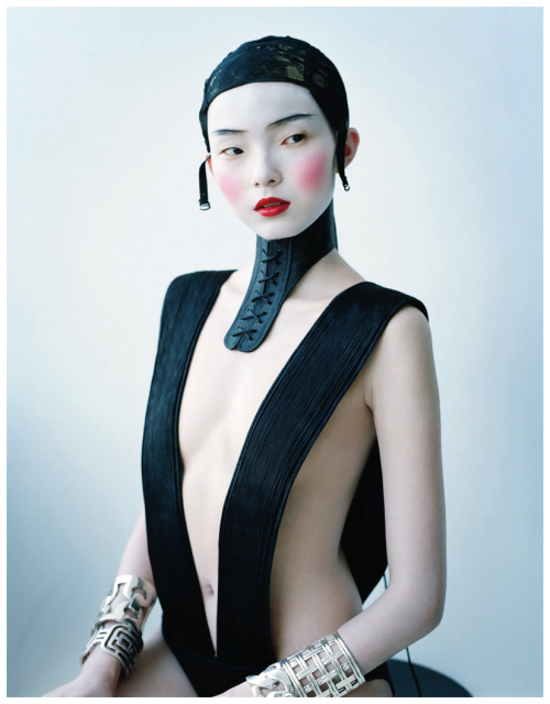 iris-wonderland:  Xiao Wen Ju in Haider Ackermann - Magical Thinking by Tim Walker for W Magazine February 2012