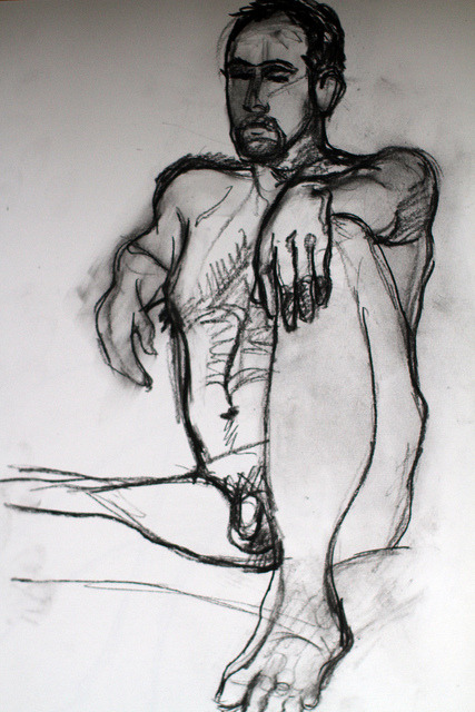 Lifedrawings from last week on Flickr.