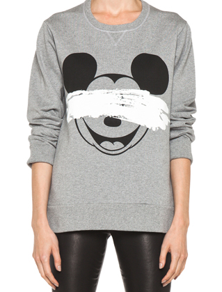 Neil Barrett Mickey Print Sweatshirt. File under: Need.