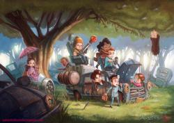 The characters from Firefly re-imagined as children. - Imgur