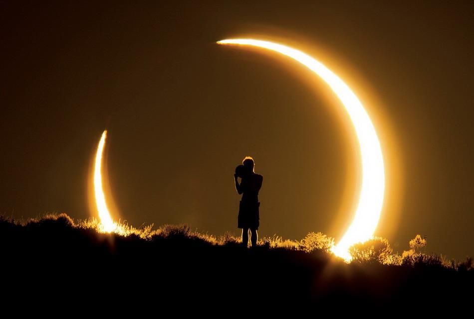 Eclipse photo by Colleen Pinski