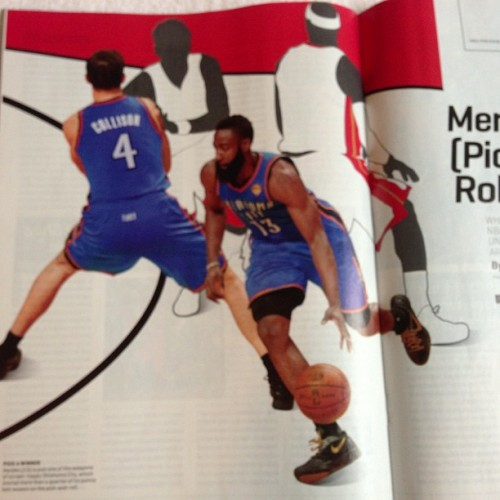 Opener I did for Sports Illustrated. Now I know all about the pick n roll.