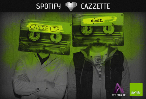 "Spotify Exclusive! We're partnering with EDM all-stars CAZZETTE to present their highly anticipated debut album ""eject.""  Get it here!"