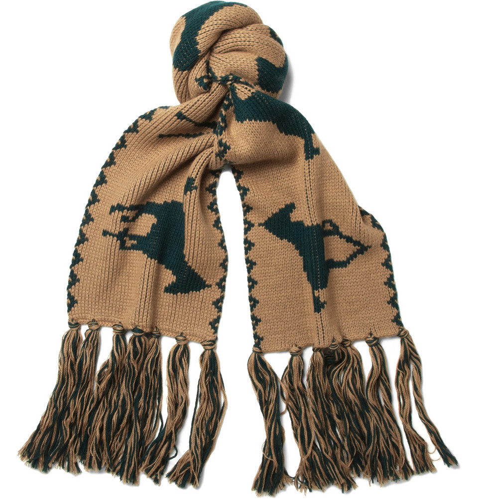 Band of Outsiders Alpaca Scarf. Yours for the low-low price of $375.