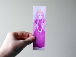 Princess bubblegum bookmark that I drew and made is now for sale here! ^o^