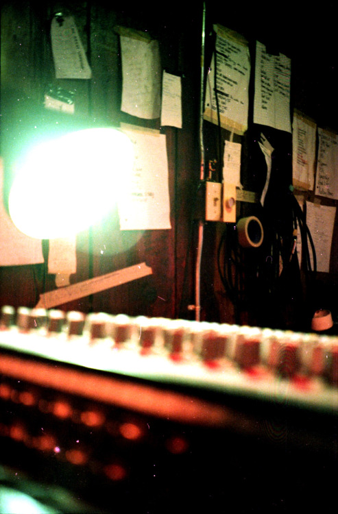 Sound board. Beloit, WI. 2012.