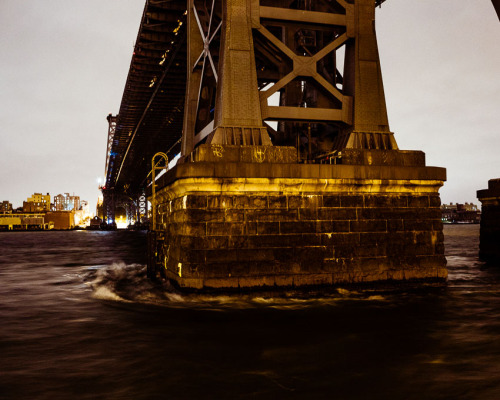 East River and Williamsburg bridge, pre-Sandy. © Nate Abbott, 2012