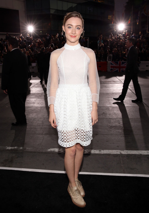 Saoirse Ronan || 'The Twilight Saga: Breaking Dawn Part 2' LA Premiere - November 12, 2012