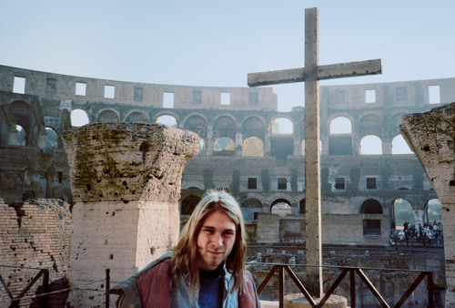 Five exclusive, never-before-seen photos of 22-year-old Kurt Cobain on Nirvana's first European tour? Yes, please.