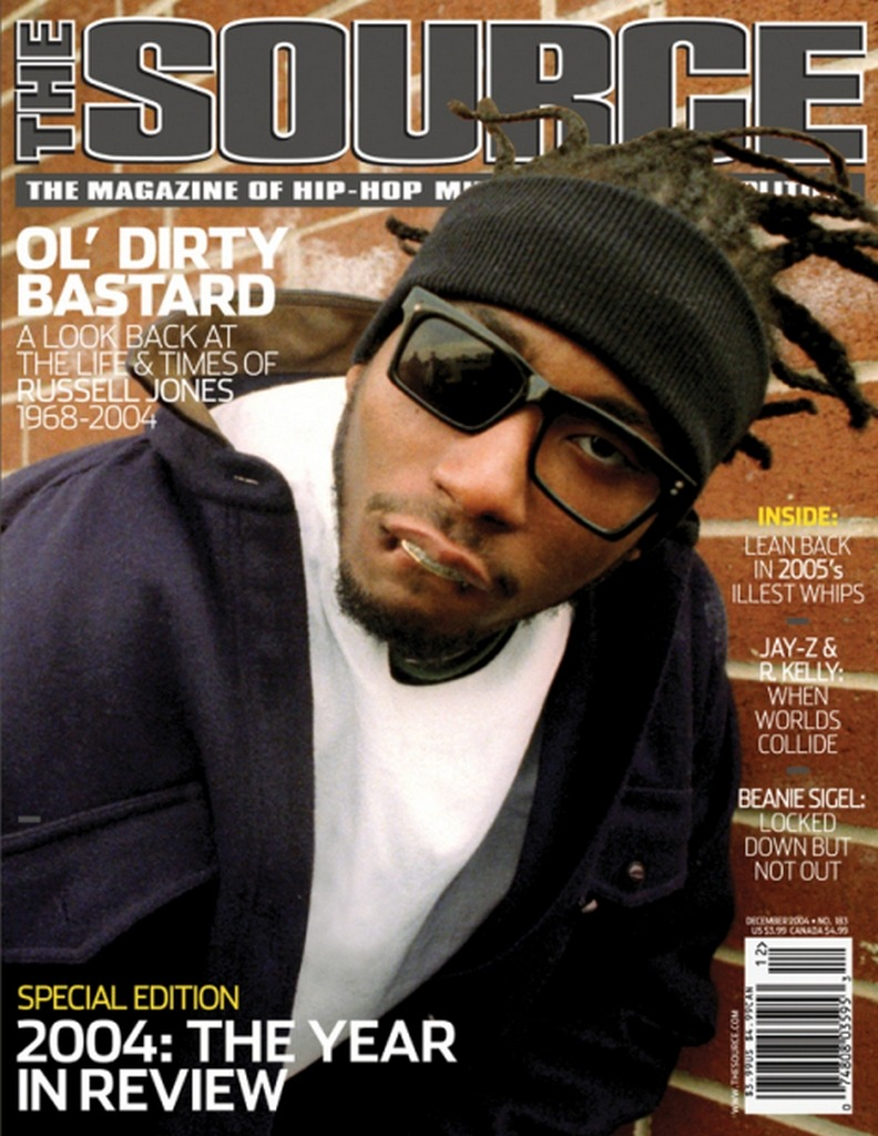 Ol' Dirty Bastard - The Source, December 2004