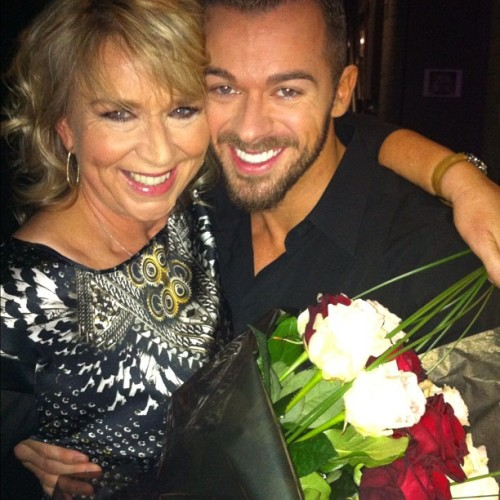 strictlystrictly:  @bbcstrictly:  It's goodbye from Fern and Artem #ittakestwo  Nov 12th, 2012