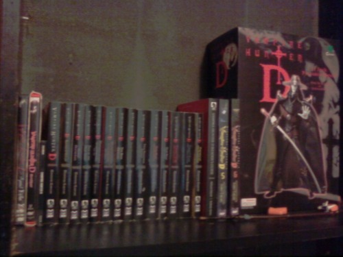 fyvampirehunterd:  Vampire Hunter D collection