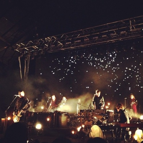 boyache:  Another shot of Sigur Rós from tonight. They were playing Sæglópur