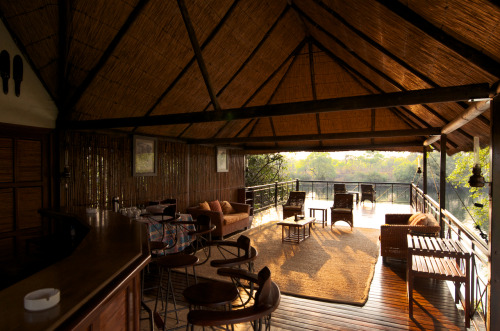 Dinner & Drinks on the Lunga River anyone? Lunga Luswishi Game Reserve, Zambia.