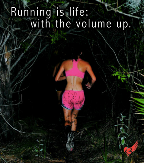 "beccafit4life:  What is ""running"" to you?"