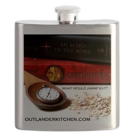 The Outlander Kitchen flask…anyone up for a wee dram?