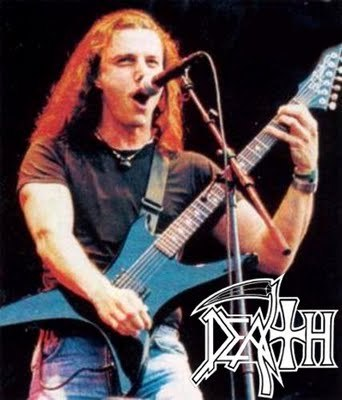 decapitador:  chuck schuldiner ,death vocal and guitar.