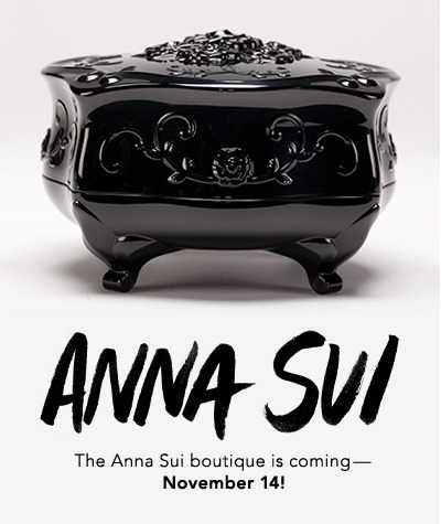 Anna Sui cosmetics launching this week on Beautylish! Get access here: http://bit.ly/W3NEC9