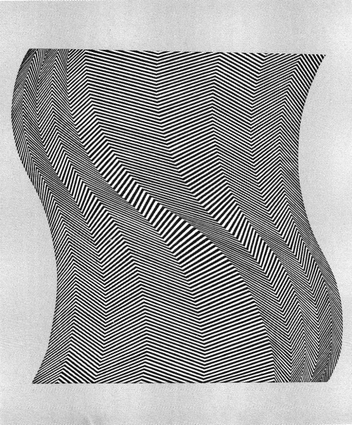 BRIDGET RILEY TWIST, 1963
