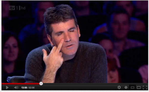 i love simon cowell