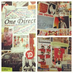 The fan art section of the #1dyearbook is AMAZING! #1dFanArt #scrapbook #takemehome #onedirection #onedirectionday