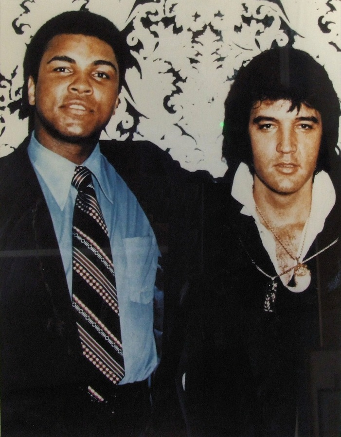 Two Kings: Ali Meets Elvis