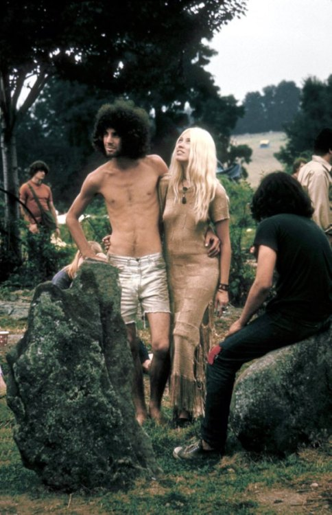 "Woodstock Music and Art Fair, 1969. ""I was much older than those"