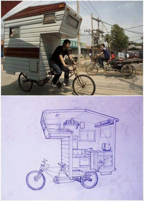 discoursesofthewithered:  Bike House/Camper <3