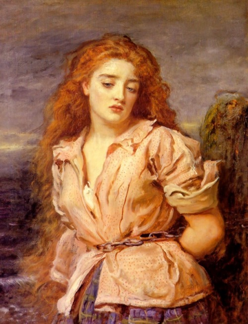 The Martyr of Solway (1871) by John Everett Millais