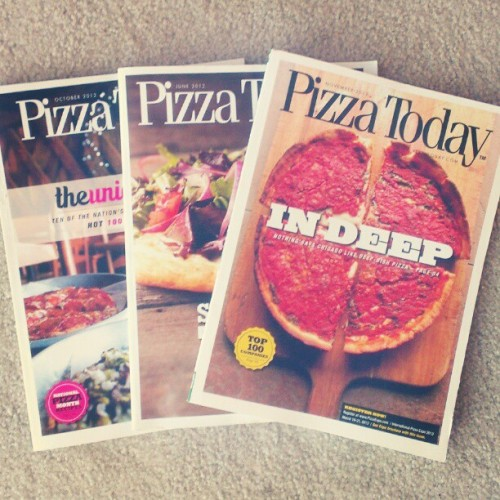I only subscribe to two magazines. This is one of them #pizzalife