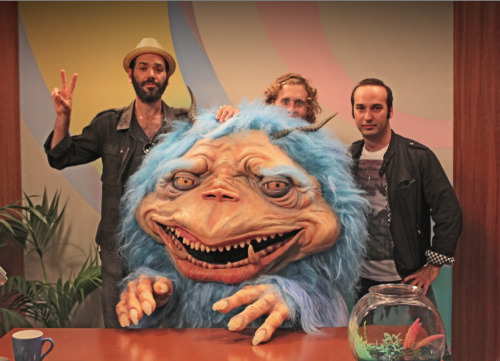 Gorburger Welcomes Fool's Gold Fool's Gold and Gorburger (T.J. Miller) on set from the new episode of The Gorburger Show.