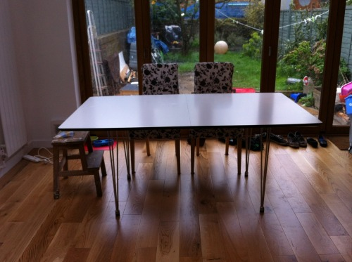 Table has arrived from John Lewis…