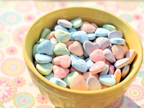 Candy Hearts (by Briana Berrie)