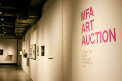 The show is up, the LIVE AUCTION is tomorrow at 6pm. Come by for art, music, drinks, snacks, fun and a worthy cause!