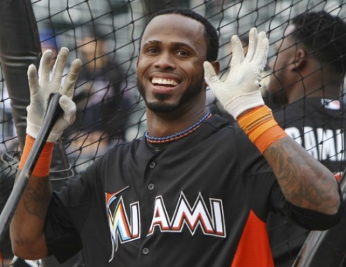 Marlins trade Reyes and Johnson to the Blue Jays. The details are still coming out but it appears that the Marlins are trading Jose Reyes, Josh Johnson, Mark Buehrle, John Buck, and Emilio Bonifacio to the Blue Jays for Henderson Alvarez, Justin Nicolino, Yunel Escobar, Adeiny Hechavarria, and Jake Marisnick amongst others. Look for more details to come out.