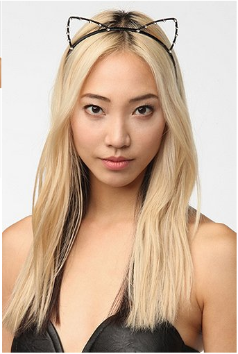Cat ladies can buy this headband at Urban Outfitters for $12 in pink or black.