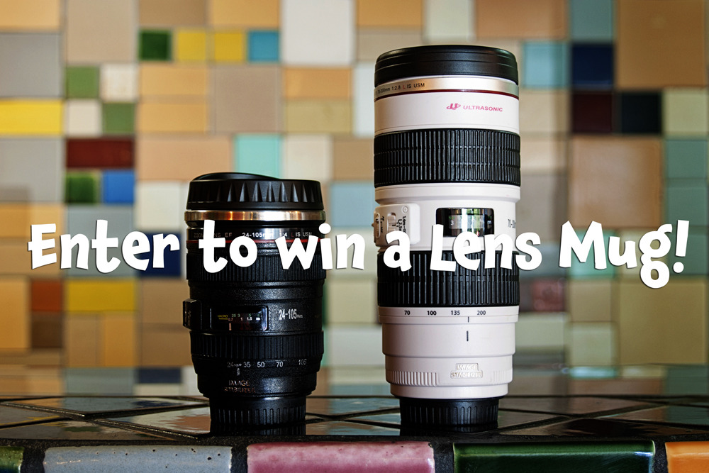 Our preferred mode of getting warm when things get chilly out? LENS MUGS. Ideally filled to the brim with caffeine. Mmm! We're giving one away today, so that you may also partake. Enter to Win a Lens Mug from Photojojo TODAAAAY!