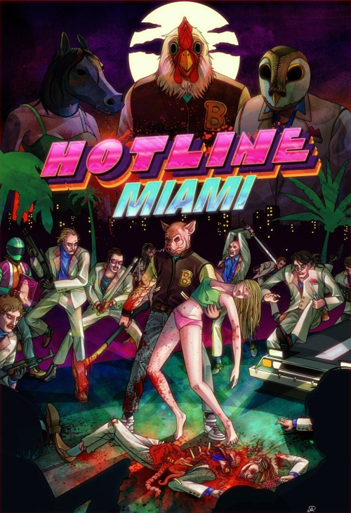 Review | Hotline Miami Devolver Digital's stylishly low-fi 16bit-styled top-down action game is fast, brutal, but most important of all, deeply satisfying.  9/10   by Adrian Perez