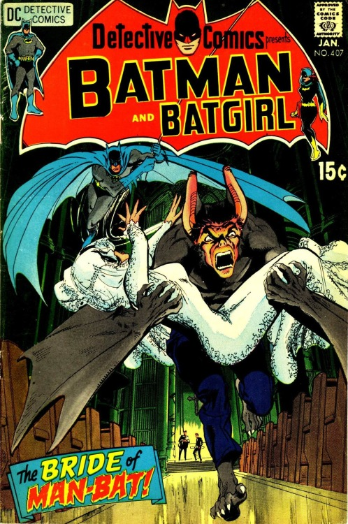 Detective Comics #407, January 1971, cover by Neal Adams