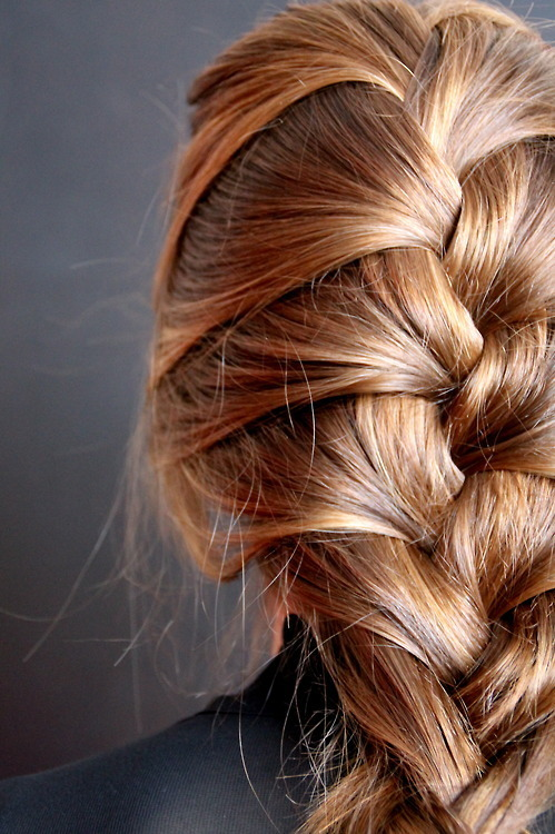 teenjournal:  Messy Braid