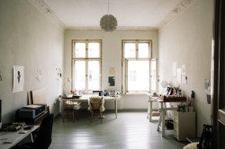 the Berlin apartment of designers/illustrators Sandra Juto and Johan Pergenius » by Freunde von Freunden