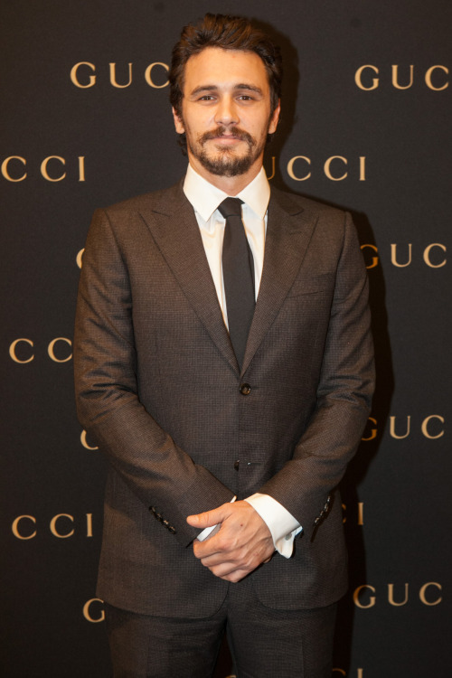 verysherry:  James Franco || Gucci store opening in Sao Paolo, Brazil on November 12, 2012